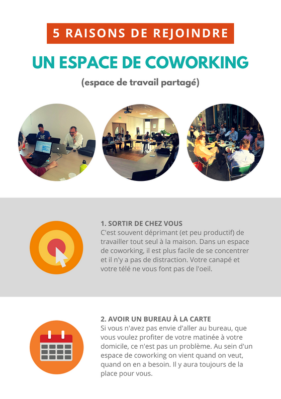 Flyer A5 Coworking Chatenois Recto