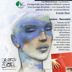 Printemps des poètes 2019, rencontrez Coraline Bogard, Ondine Chevaley et Gérard Michel !
