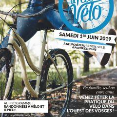 Fête du vélo le 1er juin