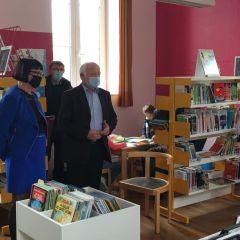 La nouvelle bibliothèque de Landaville est ouverte !