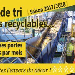 Centre de tri des déchets recyclables des Vosges : venez découvrir l'envers du décor !