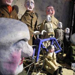 Exposition de marionnettes d'André Parisot