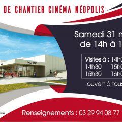 Visites de chantier du futur cinéma Néopolis
